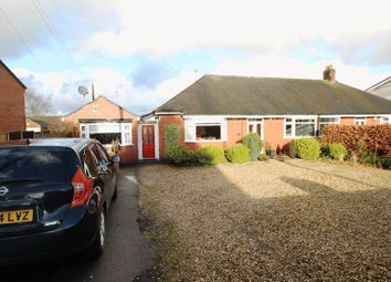 Thumbnail 3 bed semi-detached bungalow for sale in Park Lane, Kypersley, Staffordshire