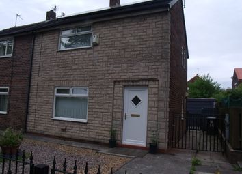 Thumbnail 2 bed semi-detached house to rent in St Martins Road, Fitton Hill, Oldham