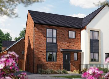 "Thumbnail 3 bed semi-detached house for sale in ""The Southwold"" at Limousin Avenue, Whitehouse, Milton Keynes"