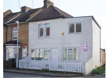 Thumbnail 4 bedroom end terrace house for sale in Nelson Road, Gravesend