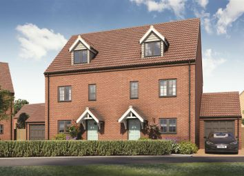 Thumbnail 4 bed semi-detached house for sale in Kings Close, Scole, Diss