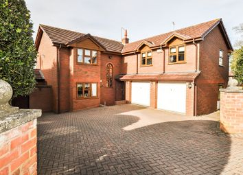 Thumbnail 5 bed detached house for sale in Church Road, Astwood Bank, Redditch