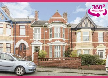Thumbnail 4 bedroom terraced house for sale in Richmond Road, Newport