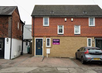 Thumbnail 1 bed semi-detached house for sale in London Road, Dunton Green
