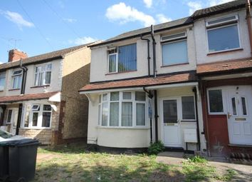 Thumbnail 3 bedroom end terrace house to rent in Runley Road, Luton