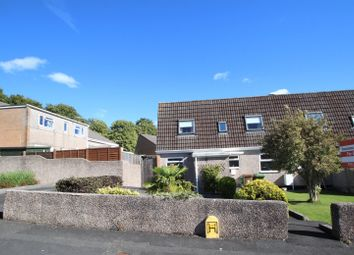 Thumbnail End terrace house for sale in Burwell Close, Thornbury, Plymouth