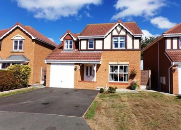 Thumbnail 4 bed detached house for sale in Llys Bran, Prestatyn, Denbighshire