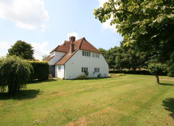 Thumbnail 4 bed detached house to rent in Tiddington, Thame
