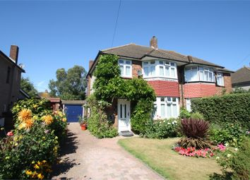 Thumbnail 3 bed semi-detached house for sale in Meadway Close, Staines-Upon-Thames, Surrey