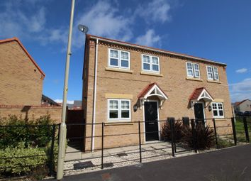 Thumbnail 2 bed semi-detached house for sale in Kempley Drive, Eastfield, Scarborough, North Yorkshire