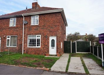 Thumbnail 2 bed semi-detached house for sale in Ash Grove, Doncaster