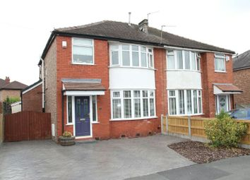 Thumbnail 3 bed semi-detached house for sale in Clover Road, Timperley, Altrincham