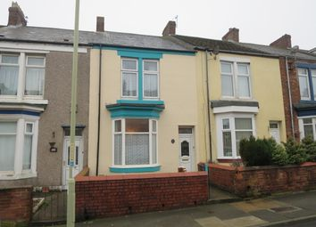 Thumbnail 2 bed terraced house for sale in Baring Street, South Shields