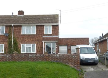 Thumbnail 3 bed semi-detached house for sale in Hall Lane, Burwell, Cambridge, Cambridgeshire