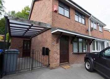 Thumbnail 3 bed semi-detached house for sale in Defoe Drive, Longton, Stoke-On-Trent