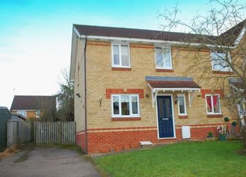 Thumbnail 3 bed end terrace house for sale in Touraine Close, Duston, Northampton