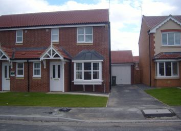 Thumbnail 3 bed semi-detached house to rent in Richardson Court, Willington, Crook