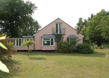Thumbnail 3 bed detached bungalow for sale in Boyton Road, Hollesley, Woodbridge