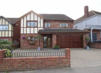 Thumbnail 5 bed detached house for sale in Daws Heath Road, Rayleigh