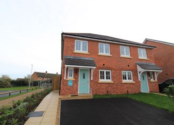Thumbnail 3 bed semi-detached house for sale in Lewis Crescent, Haygate Fields, Wellington