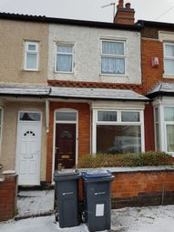 Thumbnail 2 bed terraced house to rent in Roma Road, Birmingham