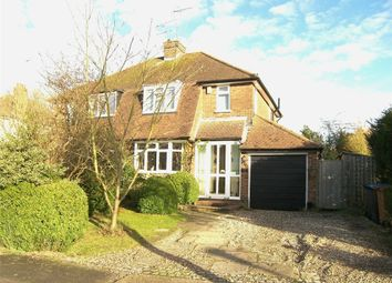Thumbnail 3 bed semi-detached house for sale in Peplins Way, Brookmans Park, Hatfield