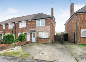 Thumbnail 2 bed semi-detached house for sale in Broxley Mead, Leagrave, Luton