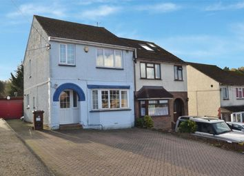 Thumbnail 3 bedroom semi-detached house for sale in Dargets Road, Walderslade, Chatham