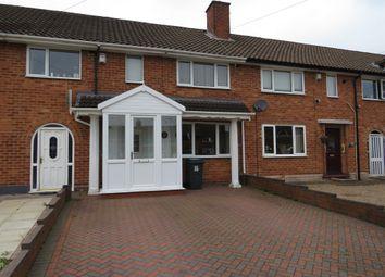 Thumbnail 3 bed terraced house for sale in Ryton Grove, Shard End, Birmingham