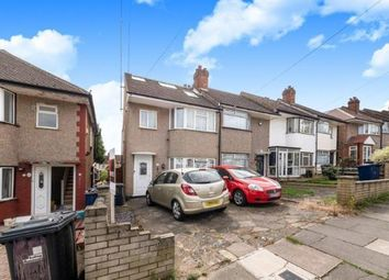 Thumbnail 3 bed end terrace house for sale in Castle Road, Northolt, Middlesex, London