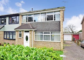 Thumbnail 3 bed semi-detached house for sale in Wraysbury Park Drive, Emsworth, Hampshire
