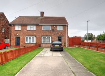 Thumbnail 3 bed property for sale in Hallside Road, Blyth