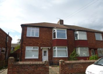 Thumbnail 2 bed flat for sale in Belmont Avenue, Billingham