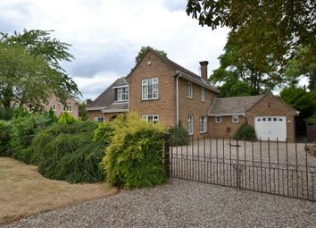 Thumbnail 4 bed detached house for sale in Rectory Lane, North Runcton, King's Lynn