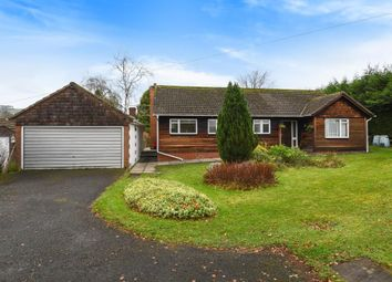 Thumbnail 3 bed detached bungalow for sale in Llanyre, Llandrindod Wells