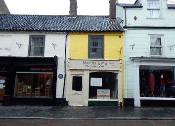 Thumbnail Retail premises for sale in 19 Norwich Street, Fakenham, Norfolk