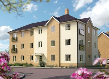 "Thumbnail 2 bedroom flat for sale in ""Kimbridge Court "" at Cutforth Way, Romsey"