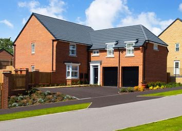 "Thumbnail 5 bed detached house for sale in ""Oulton"" at New Road, Tankersley, Barnsley"