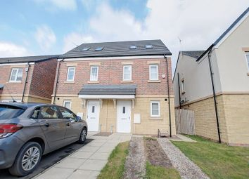 Thumbnail 3 bed semi-detached house for sale in Wellesley Drive, Blyth