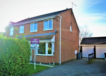 Thumbnail 3 bed semi-detached house for sale in Foxley Court, Bourne, Lincolnshire
