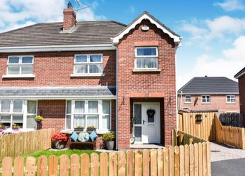 Thumbnail 3 bedroom semi-detached house for sale in Old Fort Lodge, Craigavon