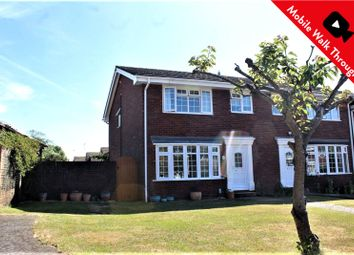 Thumbnail 3 bed end terrace house for sale in Beverley Close, Ash, Surrey