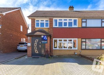 3 bed semi-detached house for sale in Kelso Drive, Gravesend, Kent DA12
