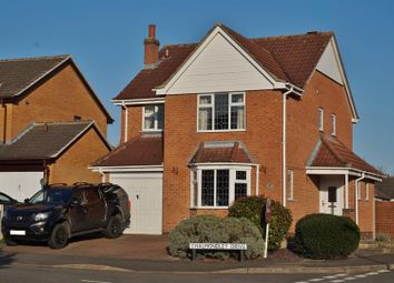 Thumbnail 4 bed detached house for sale in Chalmondley Drive, Melton Mowbray