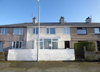 Thumbnail 3 bed terraced house for sale in Maes Y Mor, Holyhead, Anglesey