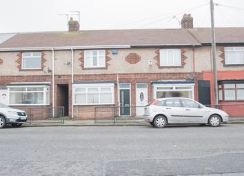 Thumbnail 2 bed terraced house to rent in Brenda Road, Hartlepool