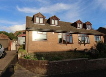 Thumbnail 4 bed semi-detached house for sale in Ffordd Eynon Evans, Caerphilly