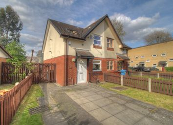 Thumbnail 2 bed semi-detached house for sale in Garthorne Close, Manchester