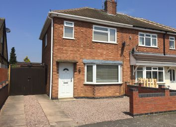 Thumbnail 2 bed semi-detached house to rent in Lowlands Avenue, Leicester Forest East