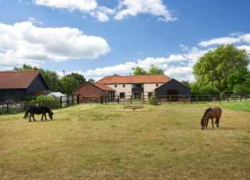 Thumbnail 4 bed barn conversion for sale in Metfield, Harleston
